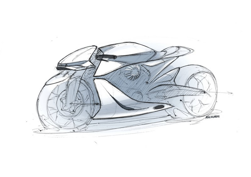 Aston Martin Brough Superior AMB-001 Sketch 001