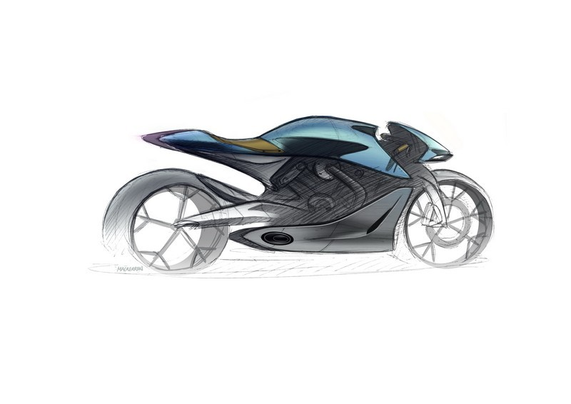 Aston Martin Brough Superior AMB-001 Sketch 002